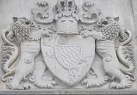 Lugwig Coat of Arms over castle entrance Wikipedia