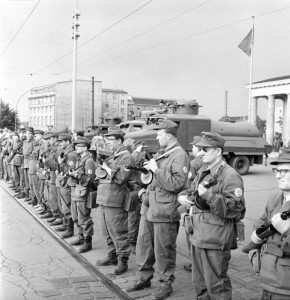 Checkpoint Charlie guards