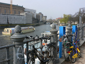 The River Spree by Museum Island. Photo by: Heather Cowper